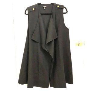 Talbots Long Wool Vest